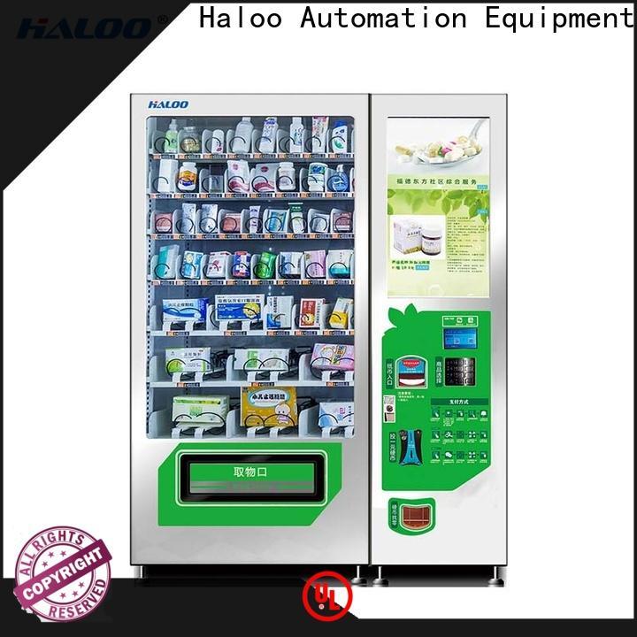 Haloo GPRS remote manage medicine vending machine factory