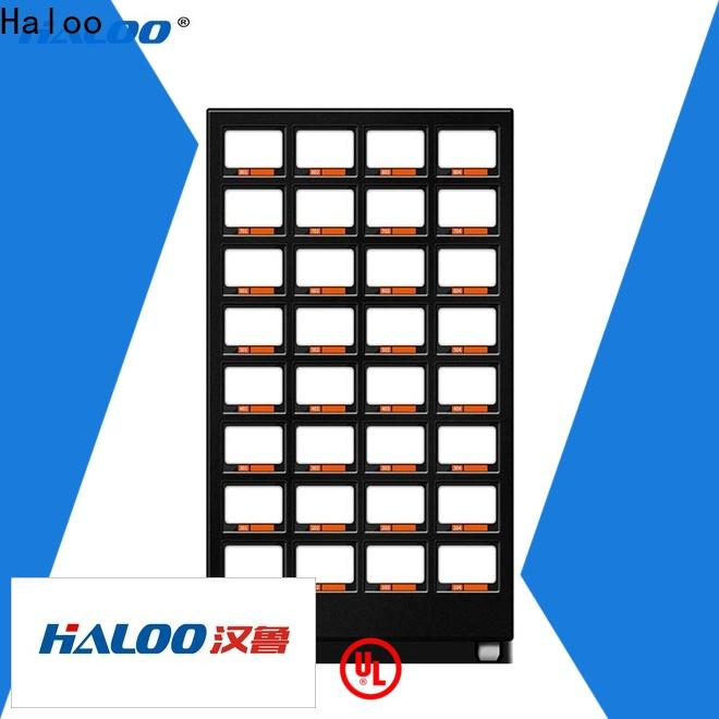 Haloo high capacity coke vending machinee wholesale for drinks