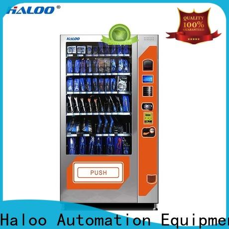 Haloo top soda snack vending factory direct supply for snack