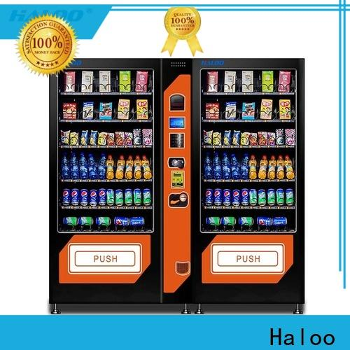 Haloo custom beverage vending machine factory direct supply for drink