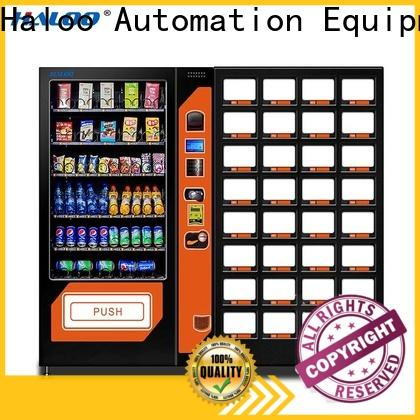Haloo combo vending machines design for drink