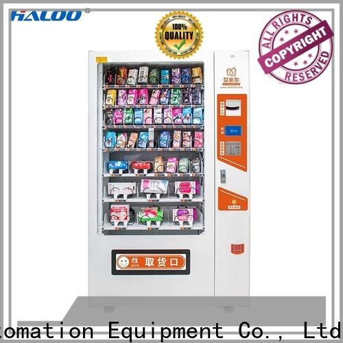 Haloo condom dispenser supplier for adults