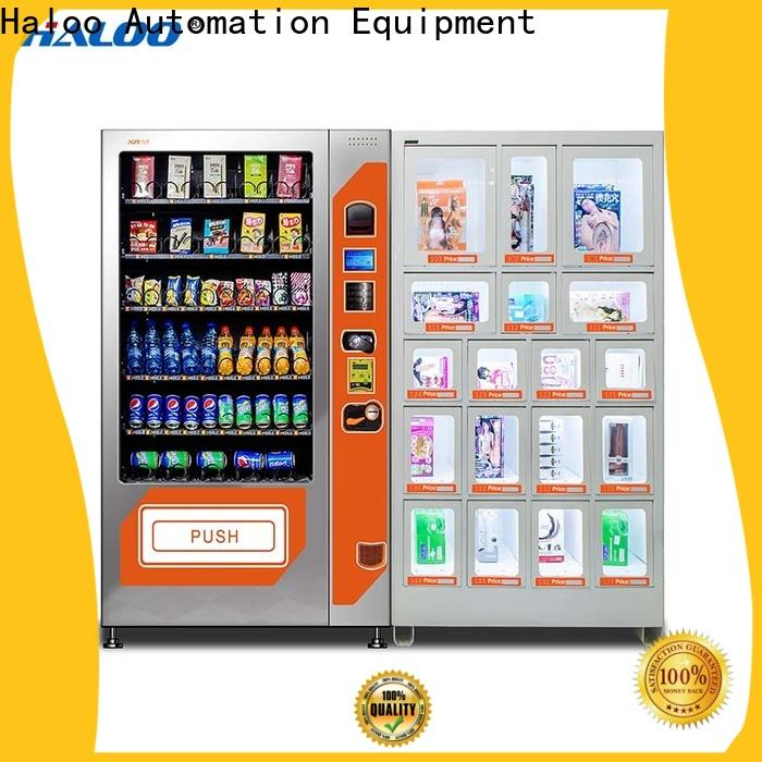 Haloo condom vending customized for shopping mall