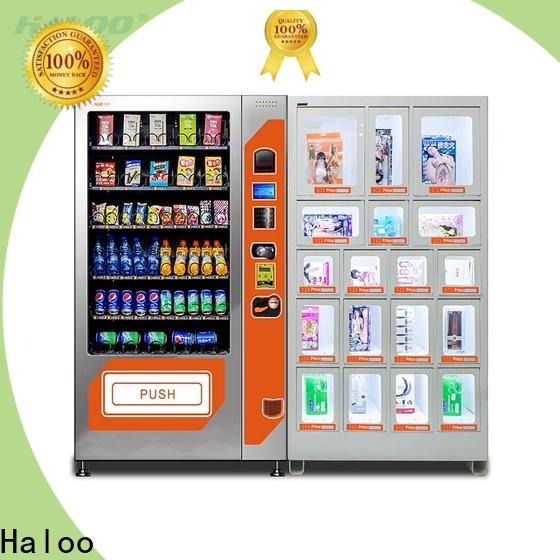 Haloo condom vending machine customized for shopping mall