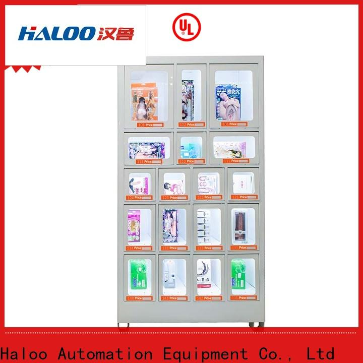 Haloo coke vending machinee wholesale for drinks