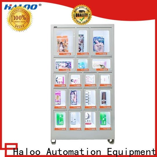 Haloo candy vending machine supplier for adult toys
