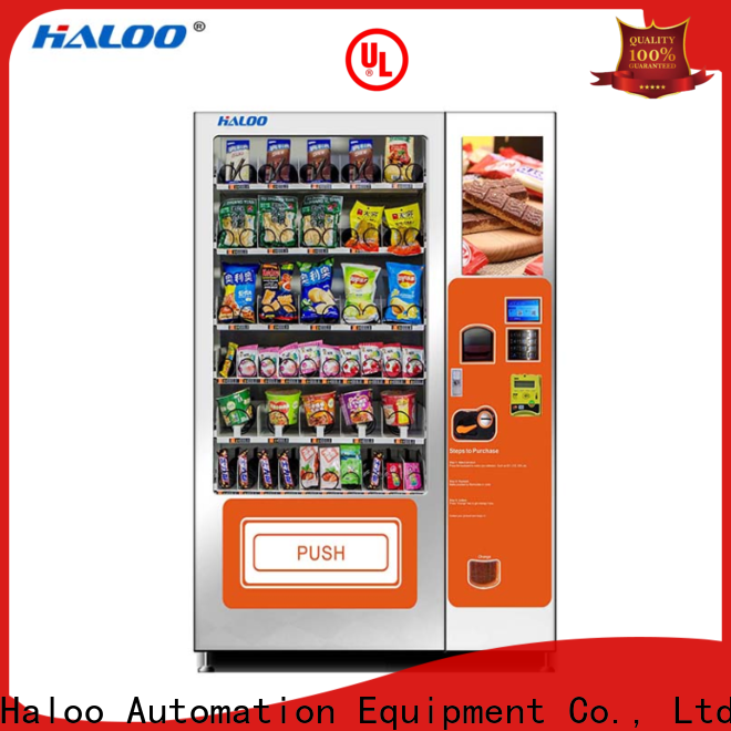 Haloo chocolate vending machine manufacturer for food