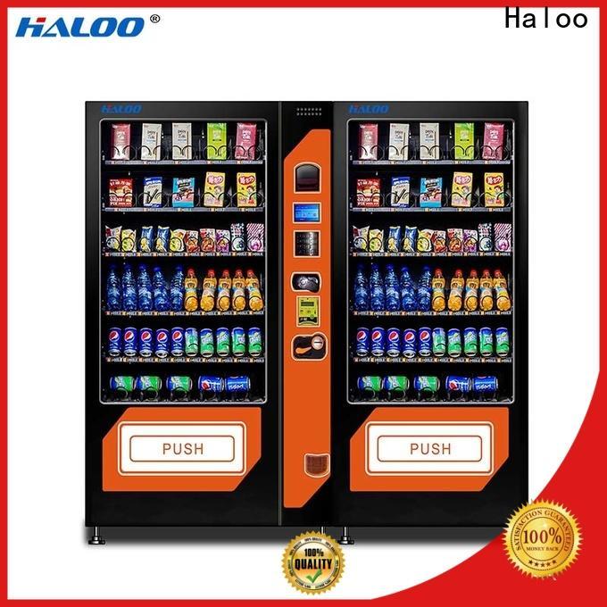Haloo high-quality beverage vending machine design for drink