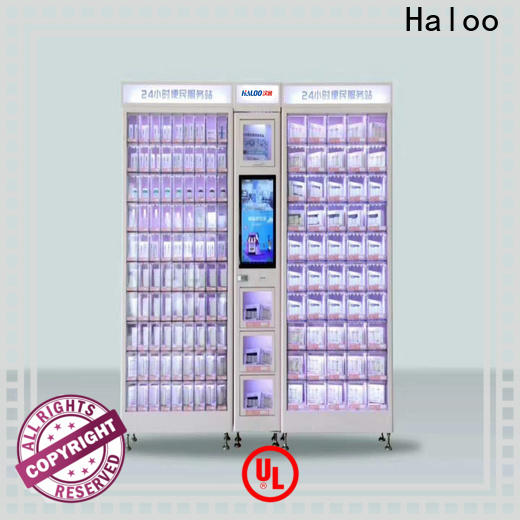 Haloo candy vending machine wholesale for drinks