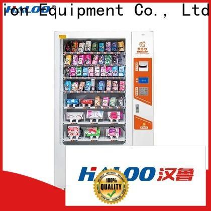 Haloo convenient condom machine wholesale for adults