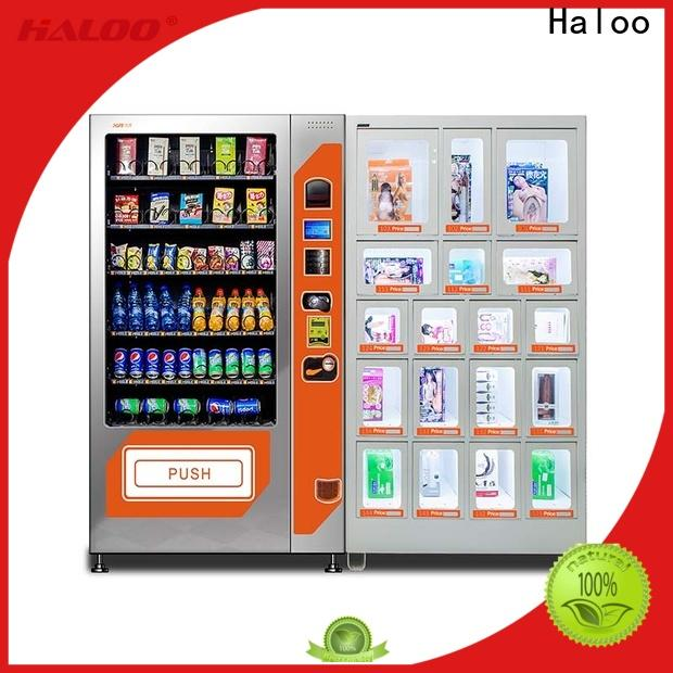 Haloo condom vending wholesale for shopping mall