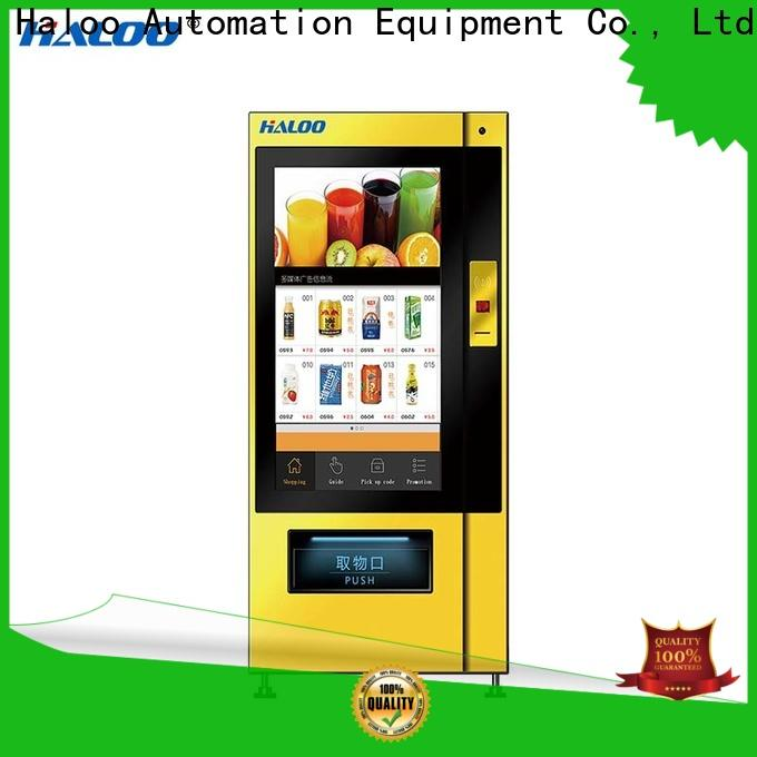 Haloo healthy vending machines manufacturer
