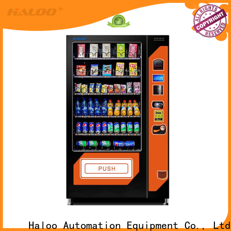 Haloo chocolate vending machine customized for drink