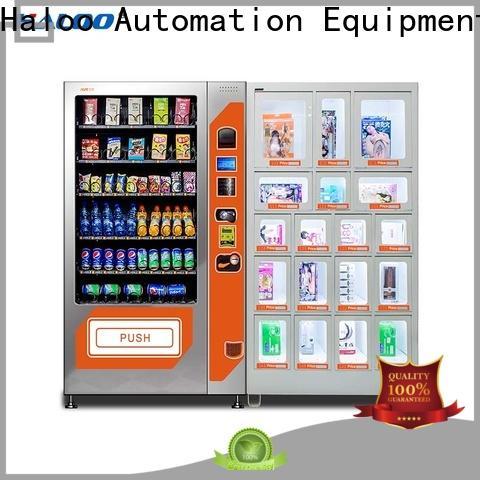 Haloo 24-hour condom machine directly sale for pleasure
