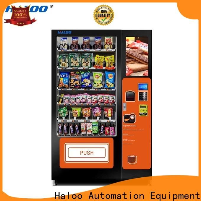 Haloo cost-effective medicine vending machine factory for shopping mall