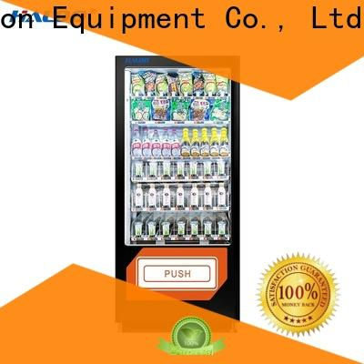 Haloo automatic coke vending machinee manufacturer for snack