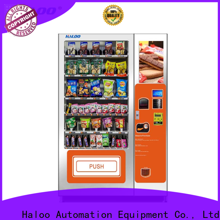 Haloo best combo vending machines with good price for food
