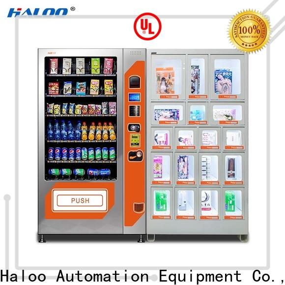 Haloo condom machine customized for shopping mall