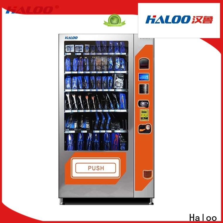Haloo latest soda snack vending factory direct supply for drink