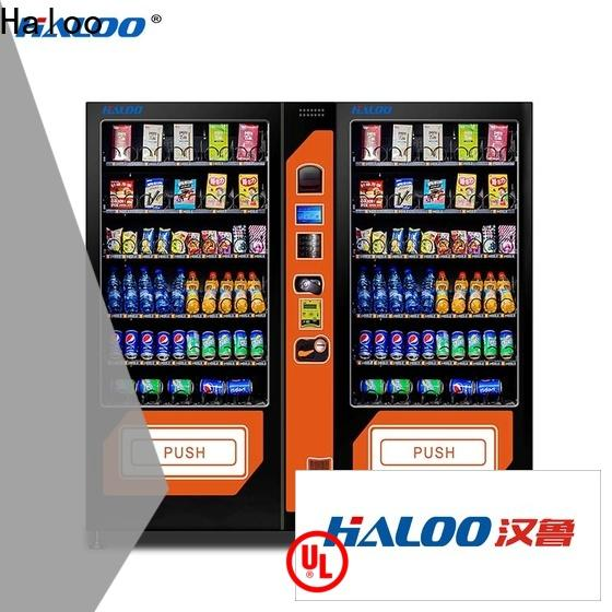 Haloo tea vending machine factory direct supply for drink