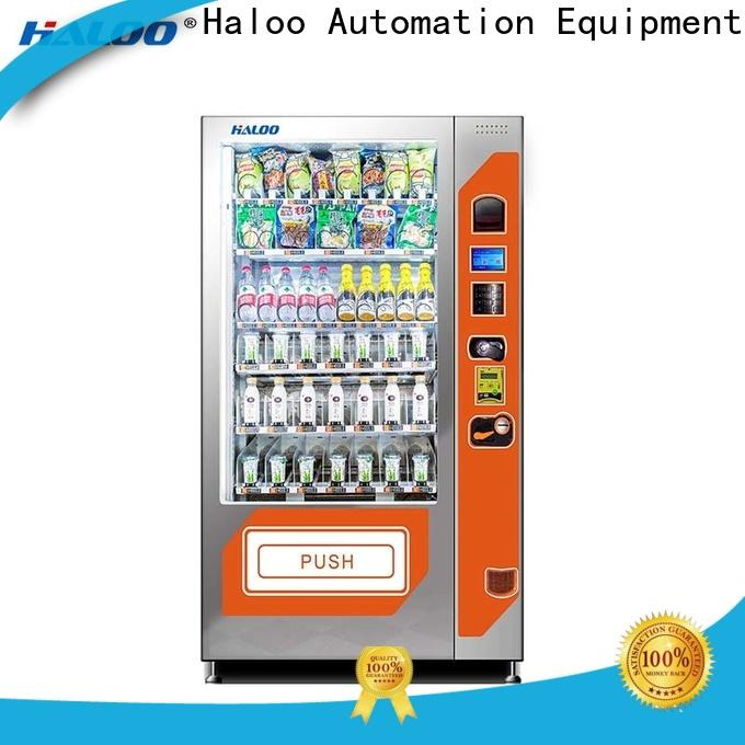 Haloo automatic snack machine factory for drinks