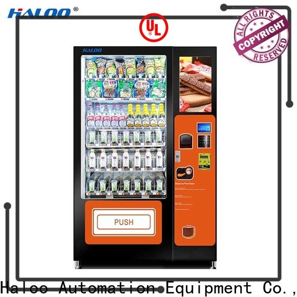 Haloo canteen vending series for fragile goods