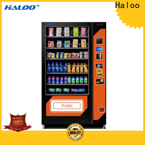 Haloo soda snack vending factory direct supply for drink
