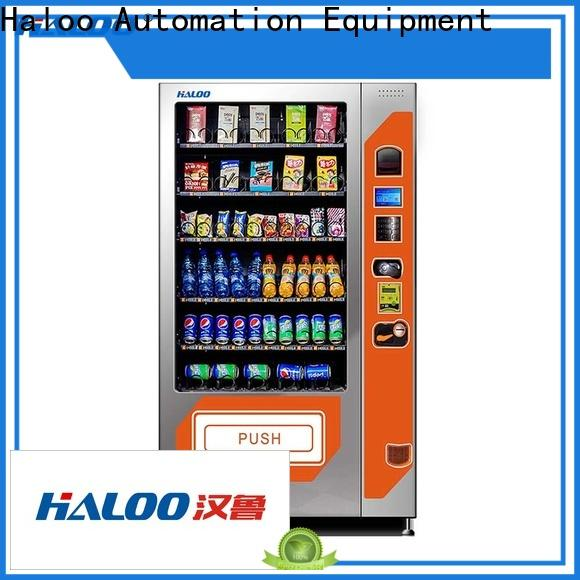 Haloo best chocolate vending machine customized for drink