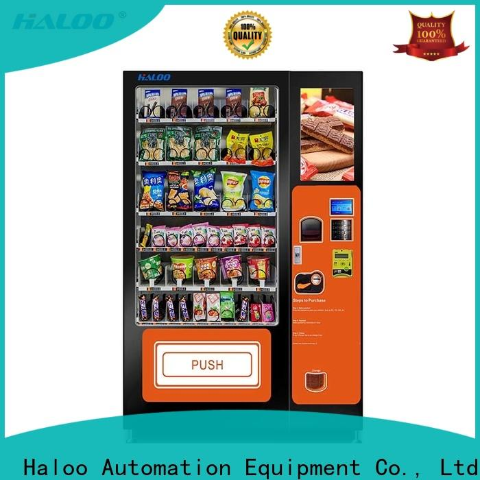 Haloo medicine vending machine factory for merchandise