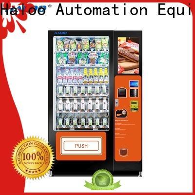 Haloo canteen vending manufacturer for fragile goods