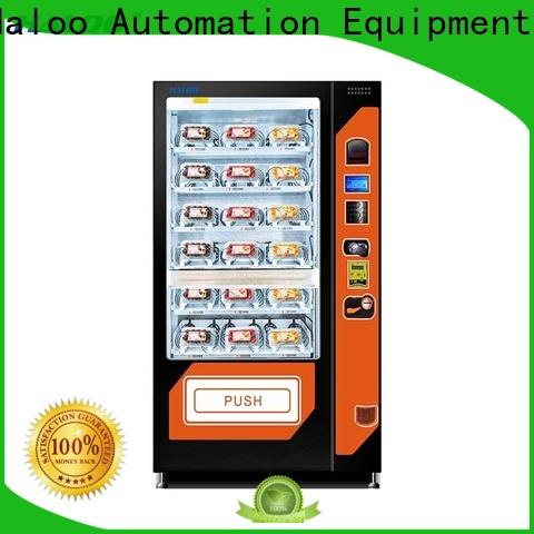Haloo automatic snack machine design for fragile goods