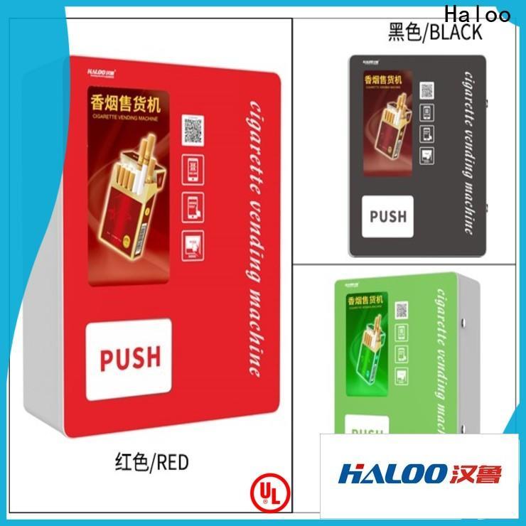 Haloo cigarette vending machine design for purchase