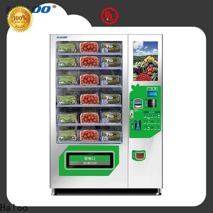 Haloo large capacity snack machine design for red wine