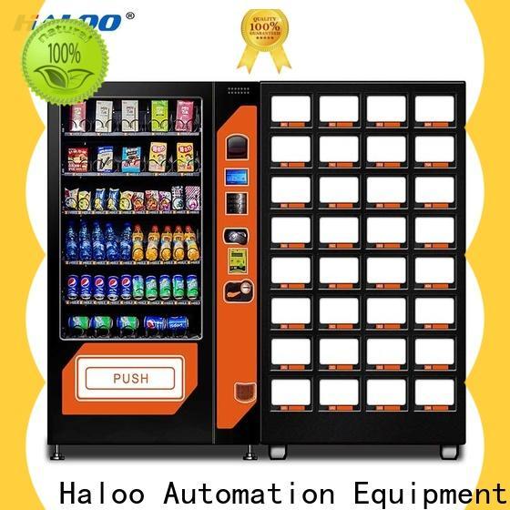 Haloo soda snack vending design for food