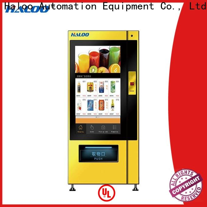 Haloo smart vending machine price factory for shopping mall