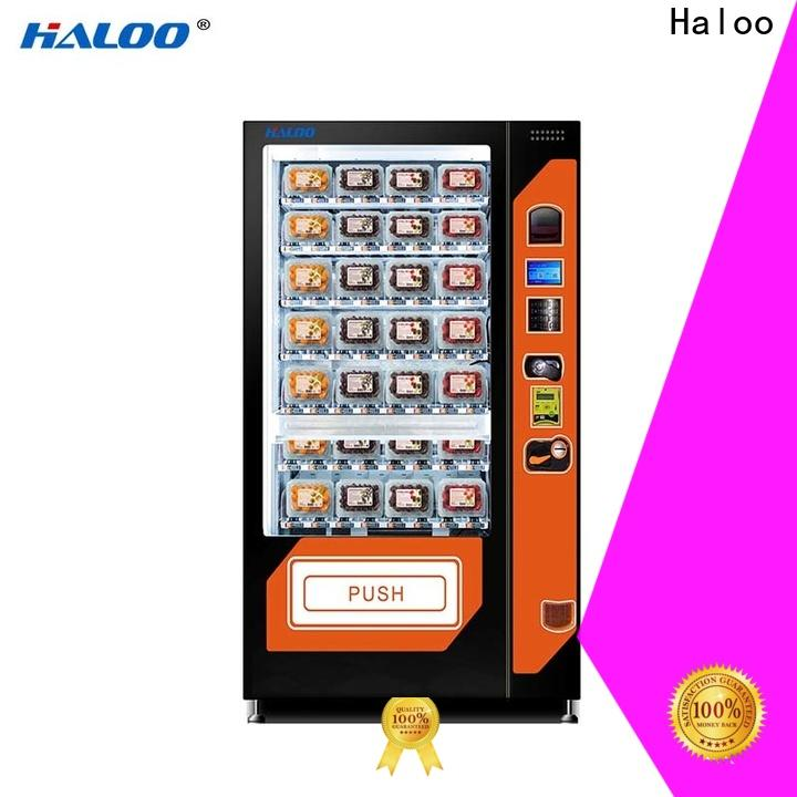Haloo durable canteen vending manufacturer for fragile goods