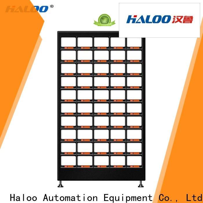 Haloo durable fruit vending machine design for fragile goods
