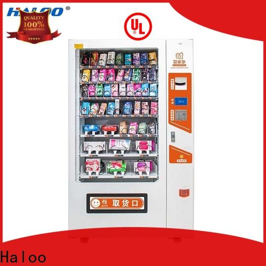Haloo 24-hour condom dispenser directly sale for adults
