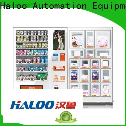 Haloo condom vending machine factory direct supply for pleasure
