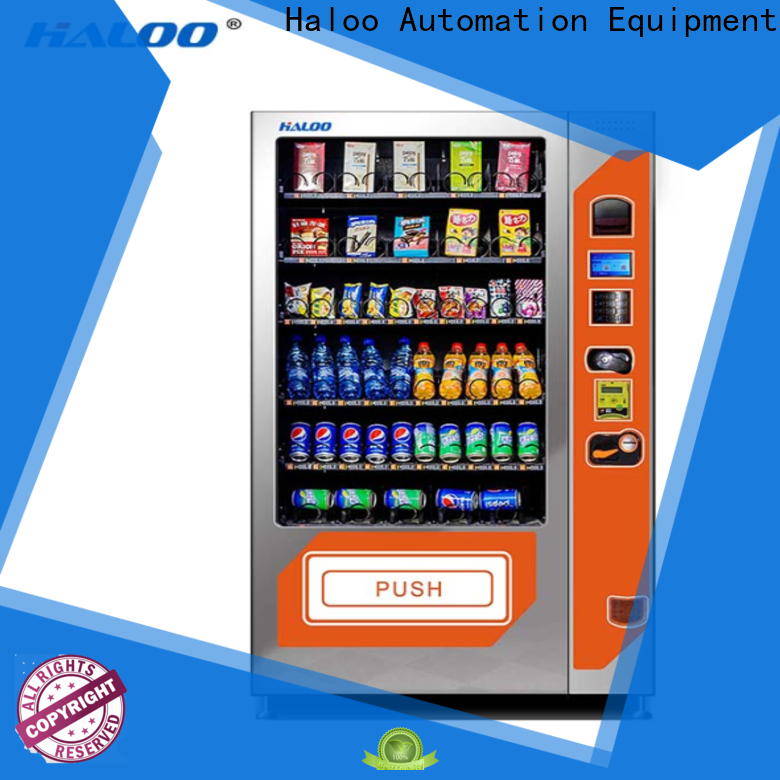 high-quality soda snack vending customized for food