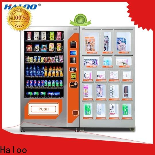 Haloo condom machine supplier for pleasure