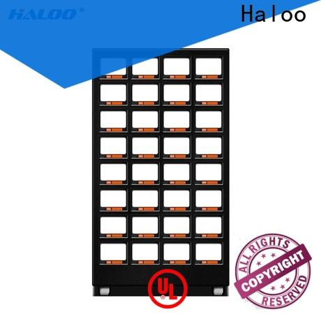 Haloo power-off protection healthy vending machine snacks supplier for drinks