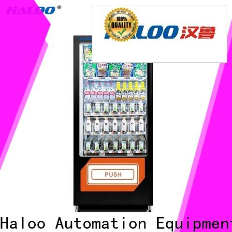 Haloo professional candy vending machine supplier for drinks