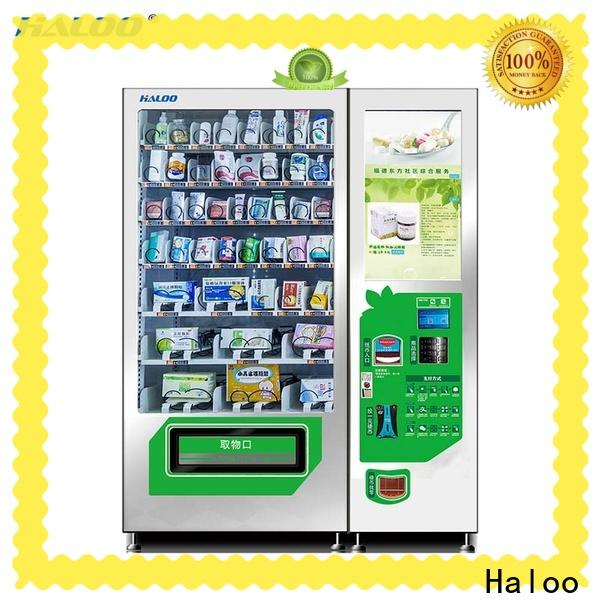 Haloo professional soda vending machine factory for merchandise