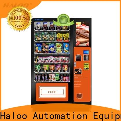Haloo professional healthy vending machines factory for merchandise