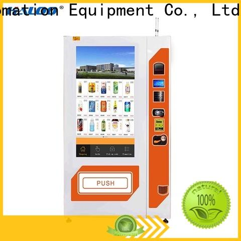 Haloo touch screen healthy vending machines factory