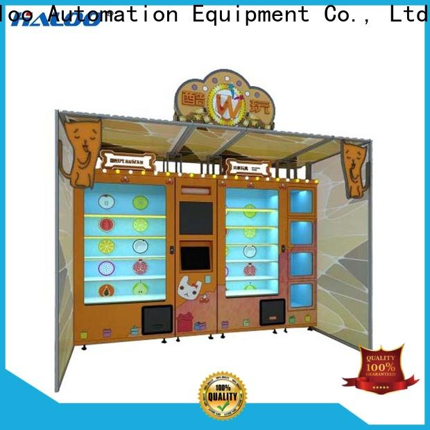 Haloo lucky box vending machine customized for lucky box gift