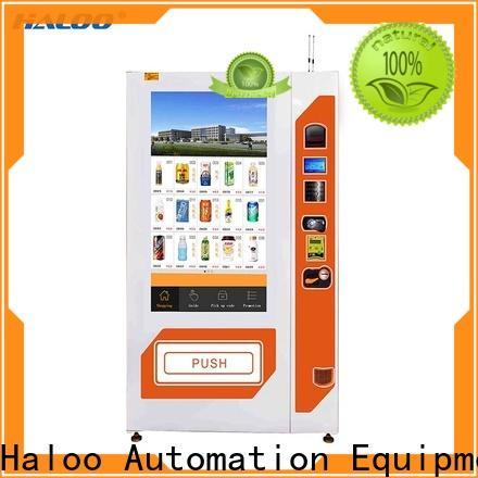 Haloo soda vending machine design