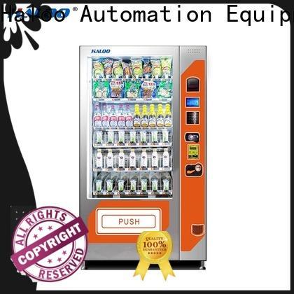 Haloo snack machine design for fragile goods