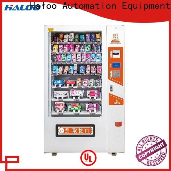 Haloo durable condom dispenser wholesale for shopping mall